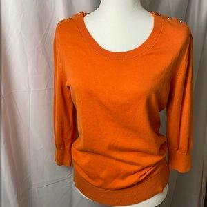 Banana Republic 3/4 Sleeved Sweater with button
